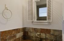 施工事例^^ かわいい造作洗面コーナー
