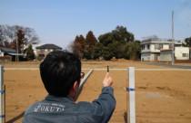 どんな家が建つのかな…現場調査