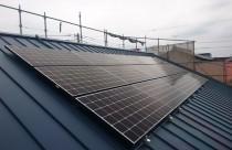 太陽光発電パネル設置!