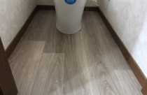 トイレの床をリフレッシュ!!?