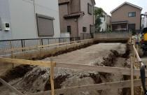 O様邸 基礎工事のスタートです!