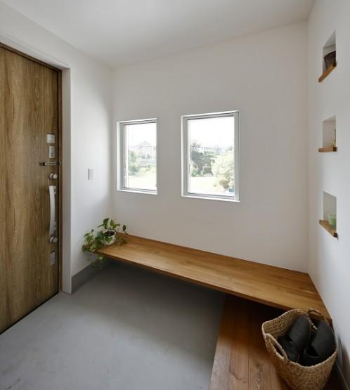 玄関ベンチ (1)