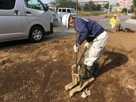 20171113解体完了確認・設備打合せ・地盤調査 (17)