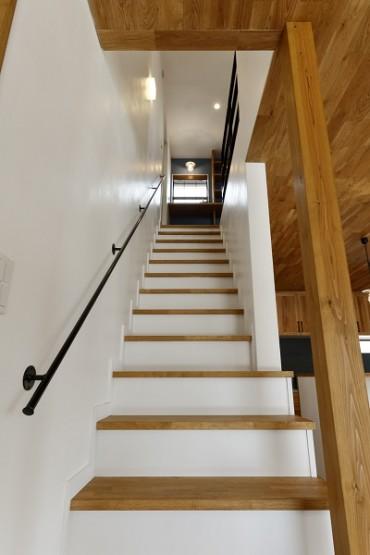 箱型階段手摺り (3)