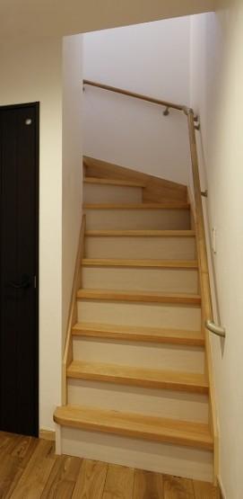 箱型階段手摺り (1)