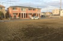 越谷市にてこれから新築工事始めます