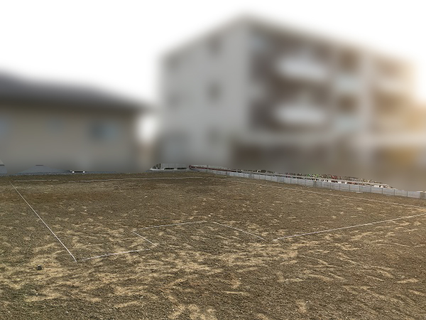 更地から基礎工事へ (2)