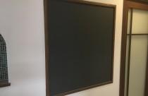 内装仕上工事(黒板作成)